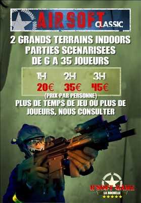Photo laser game n°282 à Achères par R'soft Game