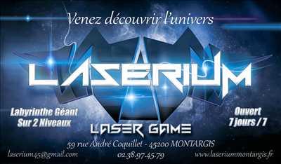 Photo laser game n°46 à Chartres par Laserium