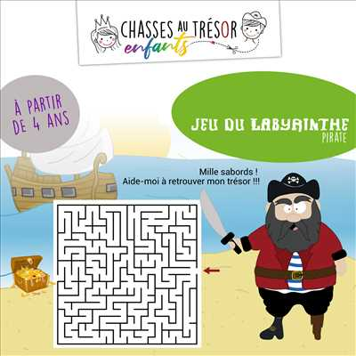 Photo escape game n°560 zone Morbihan par Chasses au trésor enfants